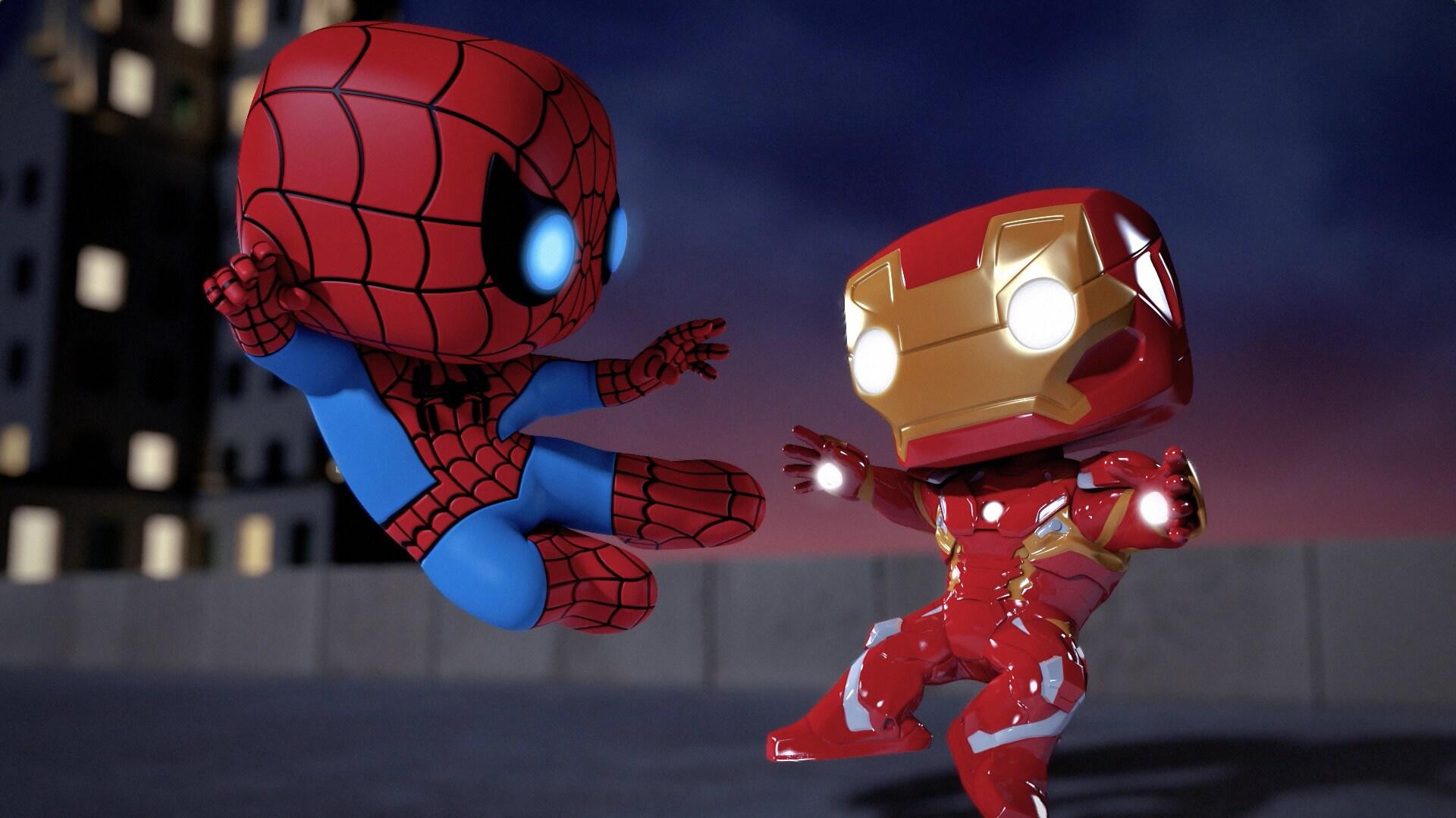 O feitiço - Marvel Funko