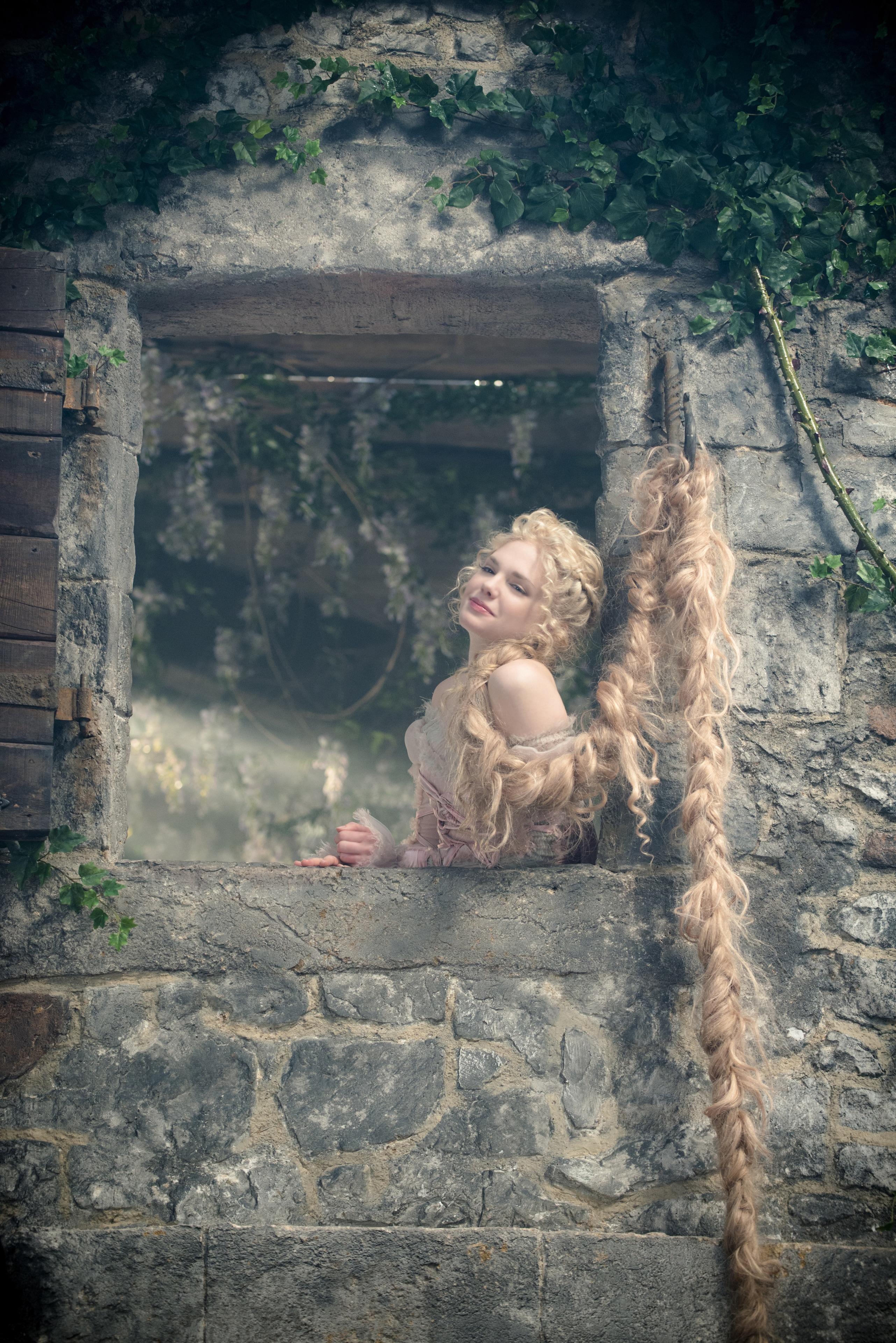 """MacKenzie Mauzy stars as Rapunzel in """"Into the Woods"""""""