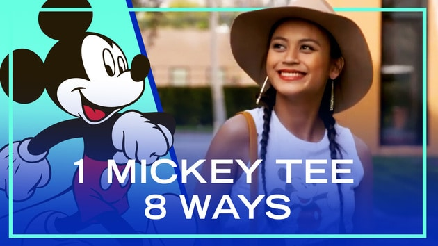 1 Mickey Tee, 8 Ways | Fashion by Disney Style