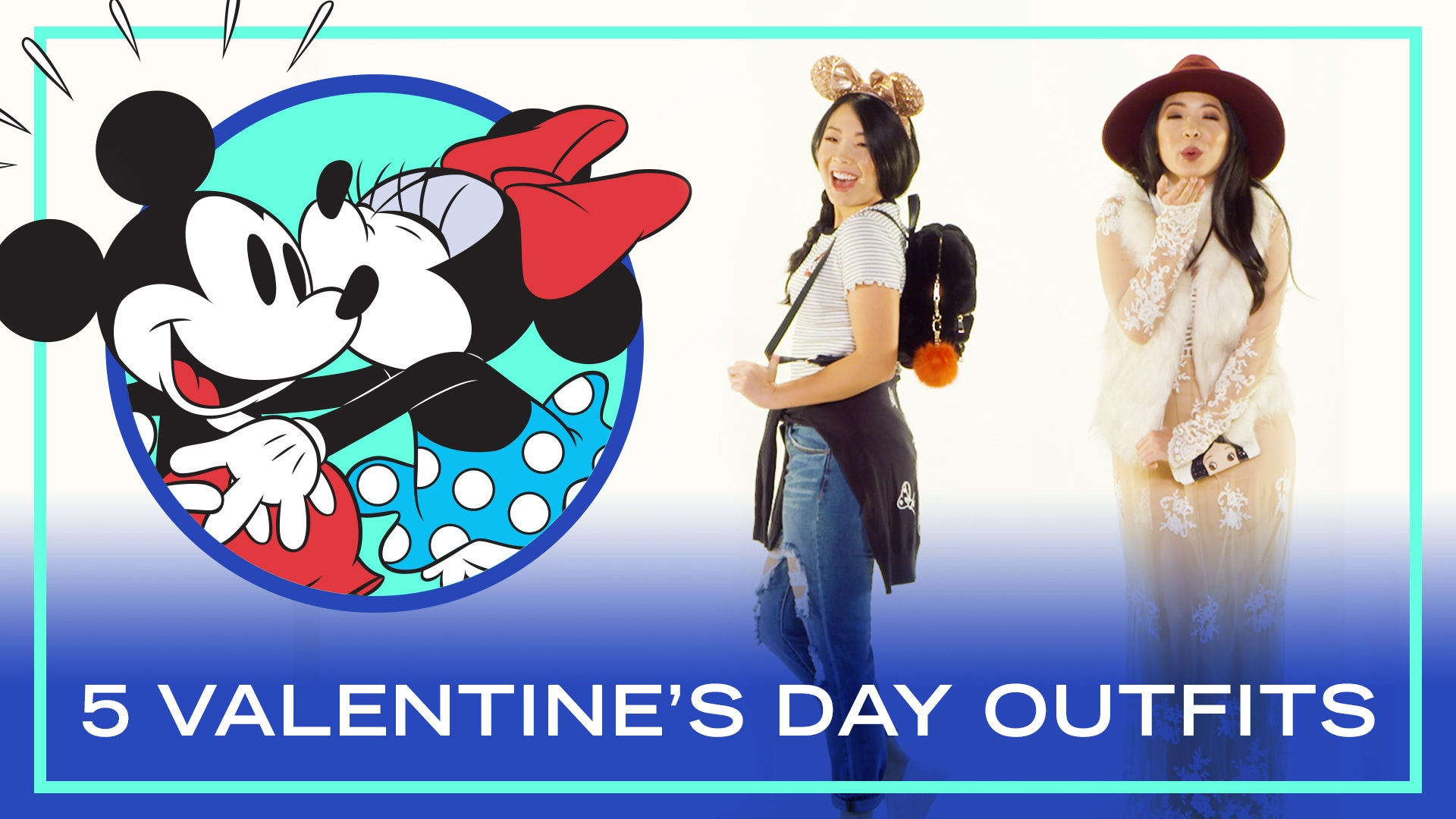 5 Disney Style Valentine's Day Outfits | Style Tutorial by Disney Style