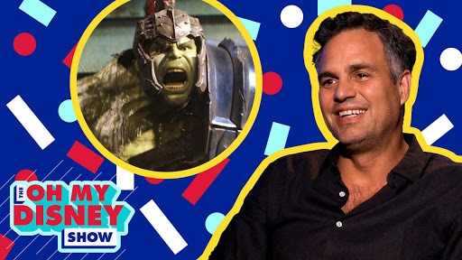 Mark Ruffalo Talks The Hulk's New Look in Thor: Ragnarok  | Oh My Disney