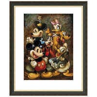 Image of ''Mickey Mouse and Friends'' Giclée by Darren Wilson # 3