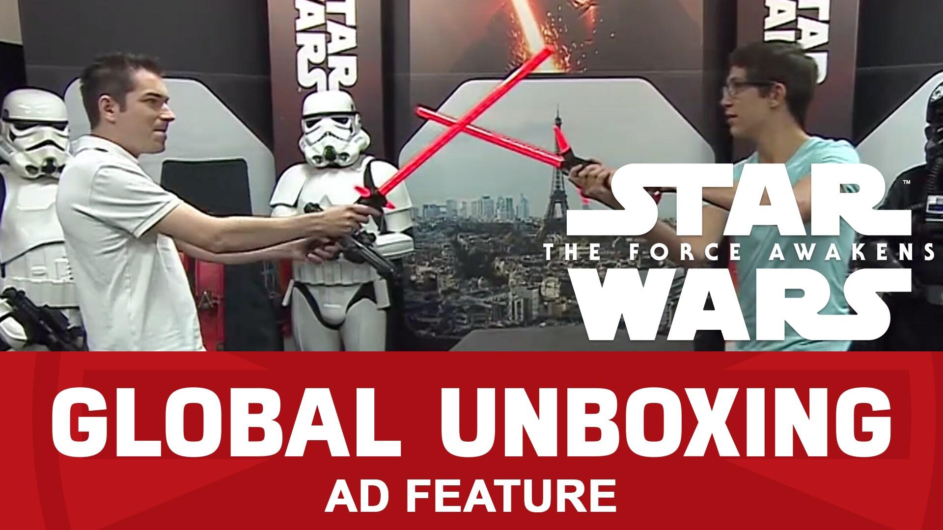 Sabre Laser de Kylo Ren – Unboxing mondial Star Wars : Le Réveil de la Force