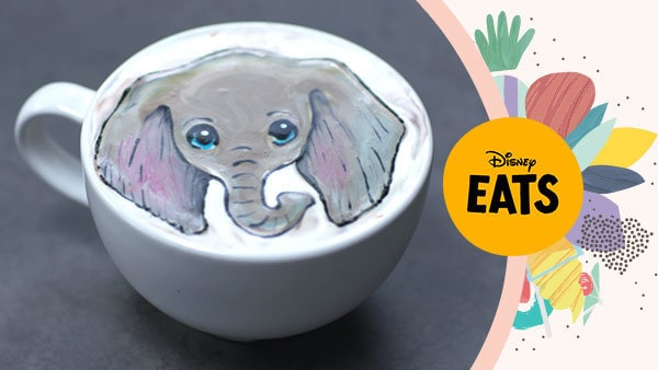 Dumbo Latte Art | Disney Eats