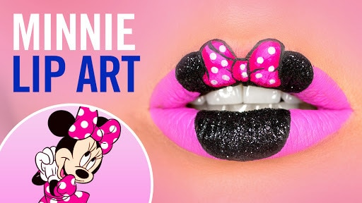 Minnie Mouse Lip Art