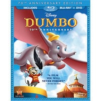 Image of Dumbo - 2-Disc Blu-ray and DVD Combo Pack # 1
