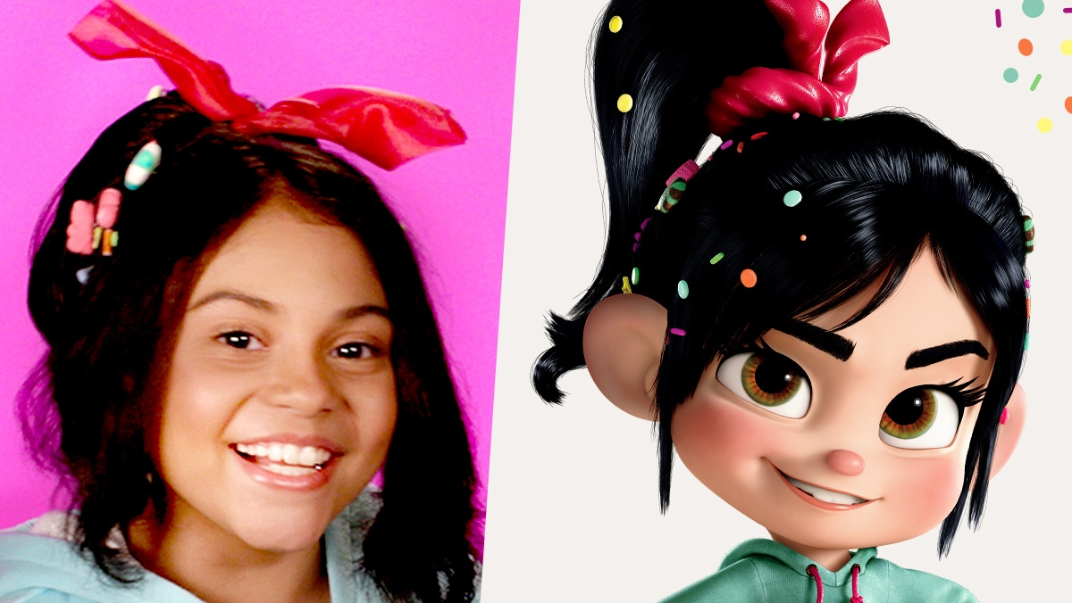 Hair Tutorial Inspired by Vanellope | Disney Family