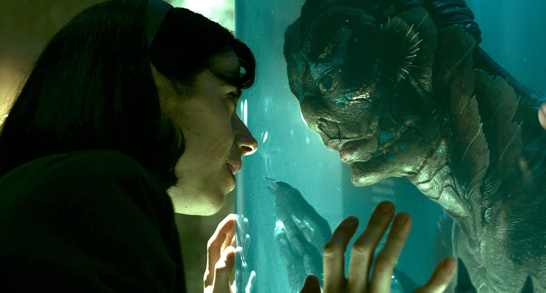 "Doug Jones and Sally Hawkins in ""The Shape of Water"""