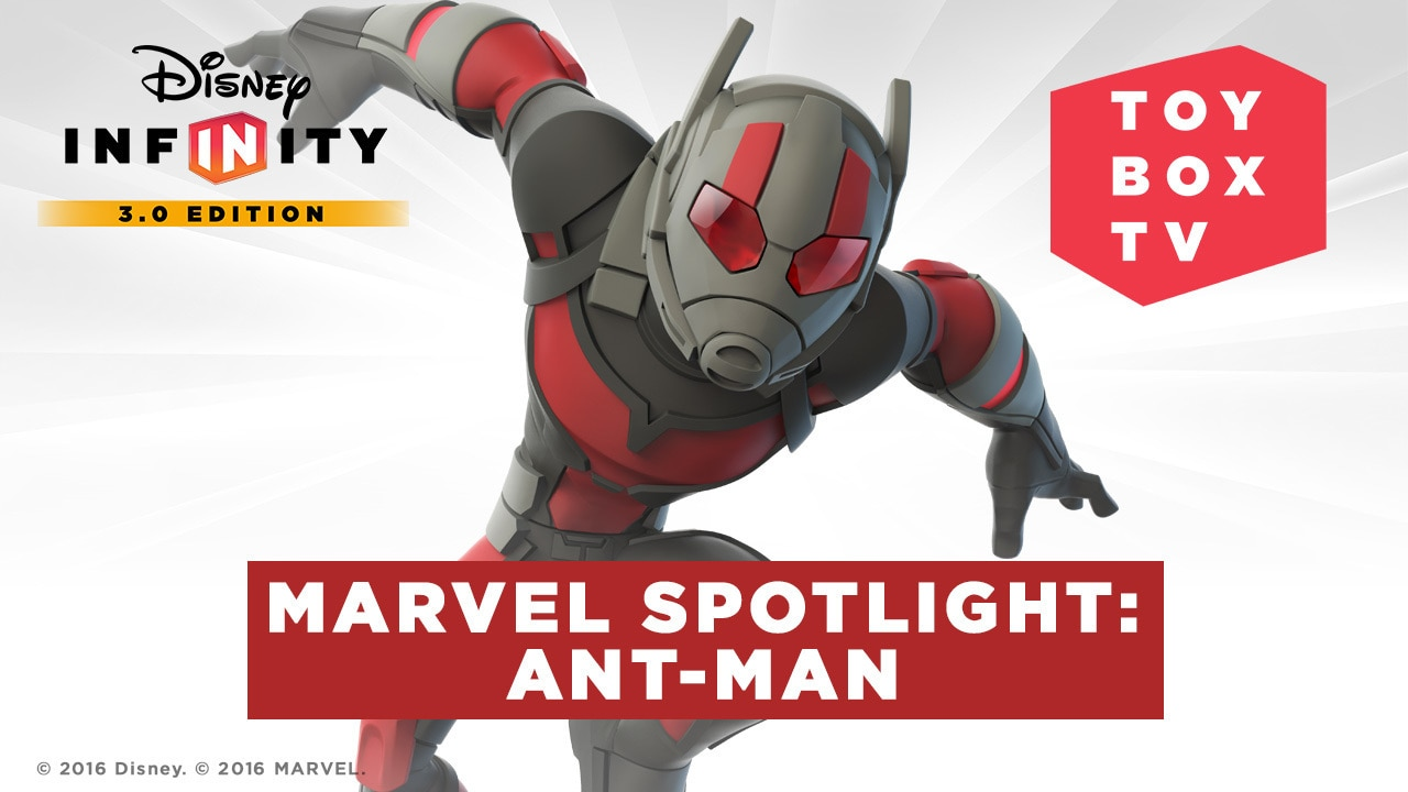 Marvel Spotlight: Ant-Man - Ep. 117 - Disney Infinity Toy Box TV