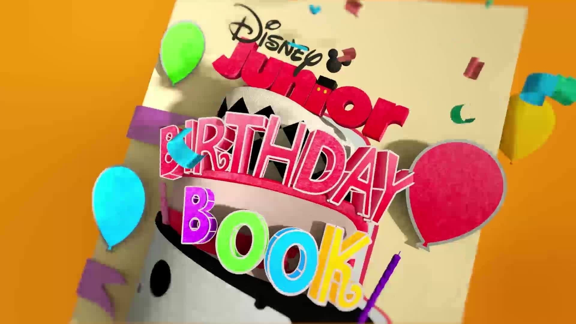 Disney Junior Birthday Book 2020 March Album 9