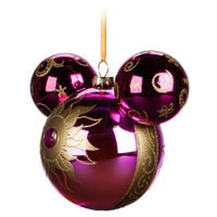 Tangled Icon Glass Ornament