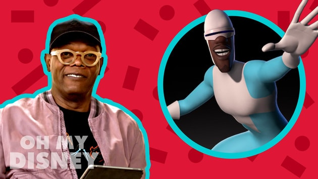 Samuel L. Jackson Finds His Super Suit for Incredibles 2   The Oh My Disney Show by Oh My Disney