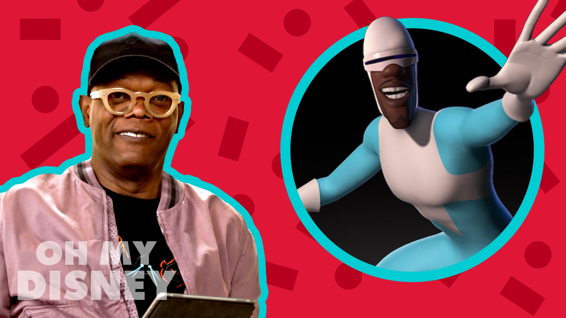 Samuel L. Jackson Finds His Super Suit for Incredibles 2 | The Oh My Disney Show by Oh My Disney
