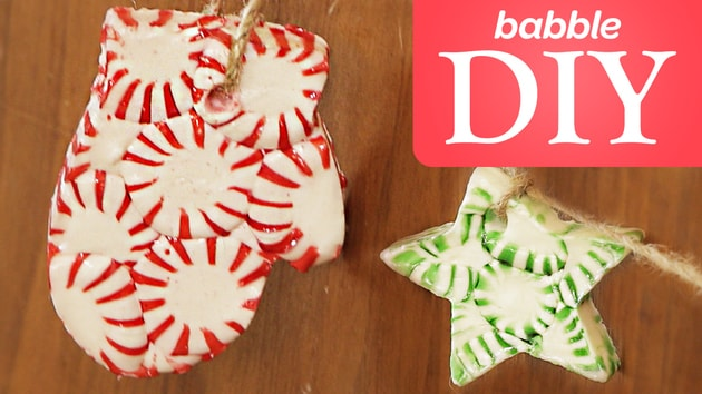 Babble: DIY Peppermint Garland