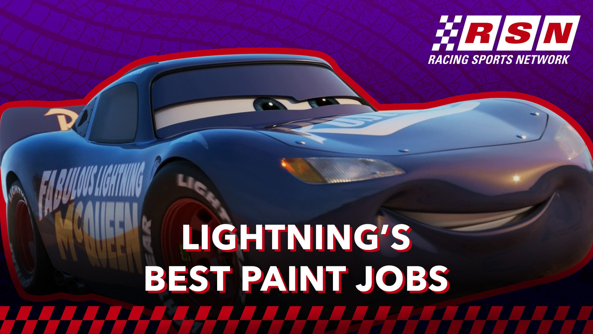 Lightning McQueen's Best Paint Jobs | Racing Sports Network by Disney•Pixar Cars