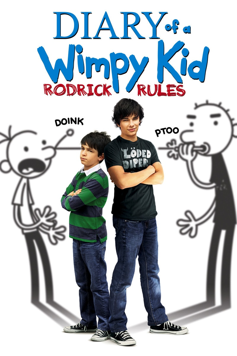 Diary of a Wimpy Kid: Rodrick Rules movie poster