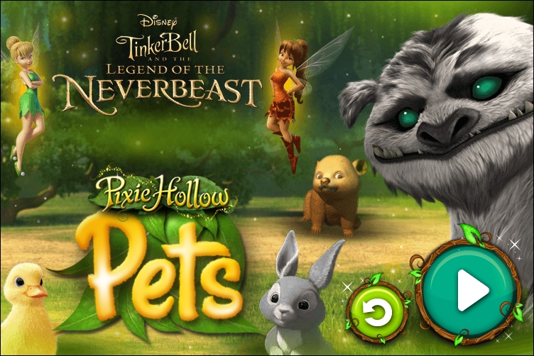 Pixie Hollow Pets: Tinker Bell and the Legend of the Neverbeast
