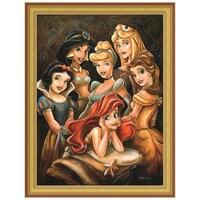 Disney ''Princess Gathering'' Giclée by Darren Wilson