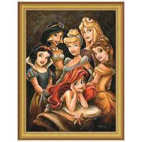 Image of Disney ''Princess Gathering'' Giclée by Darren Wilson # 8