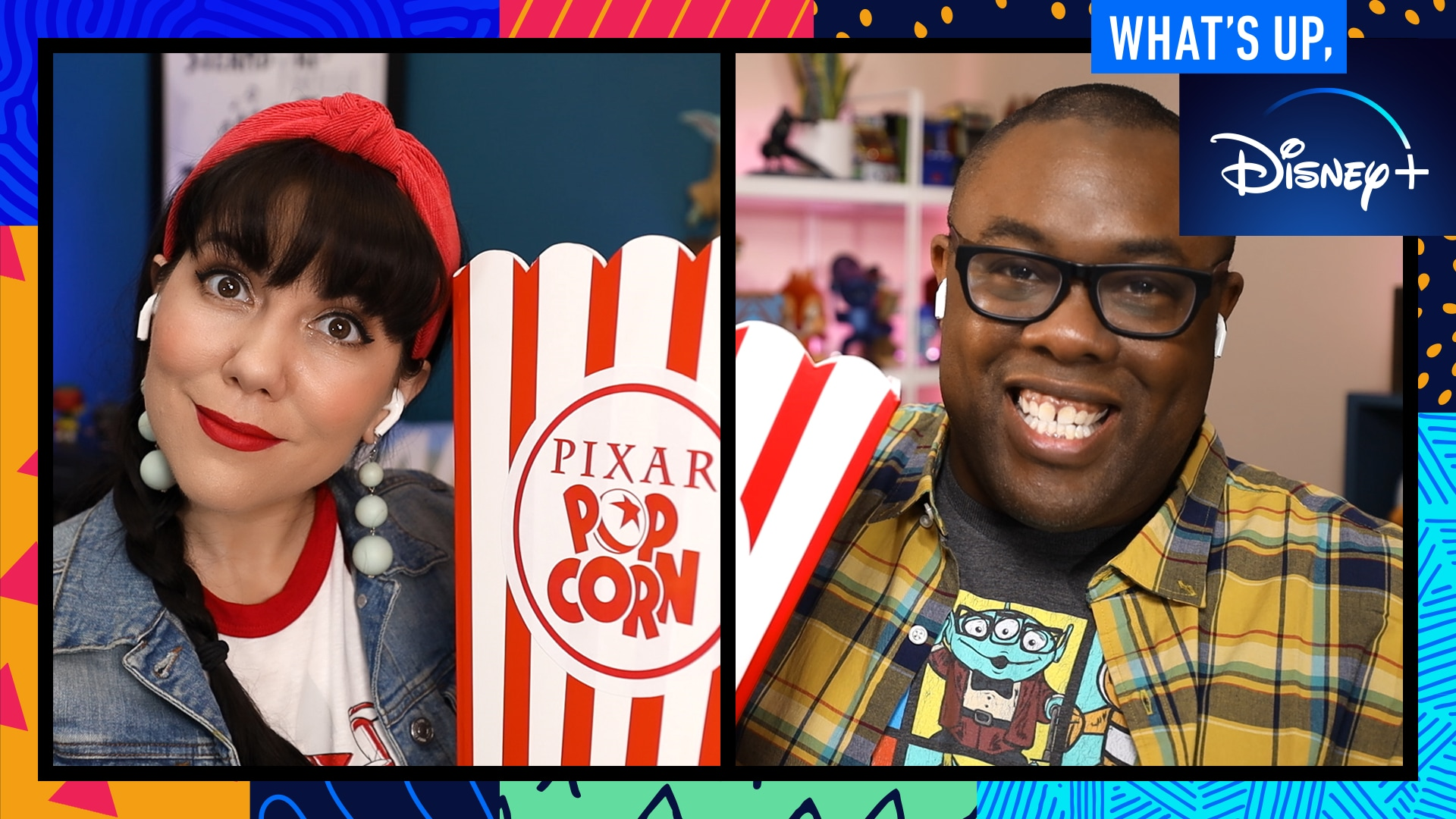 Pixar Popcorn Trivia and One Hundred and One Dalmatians' 60th Anniversary | What's Up, Disney+ | Episode 12