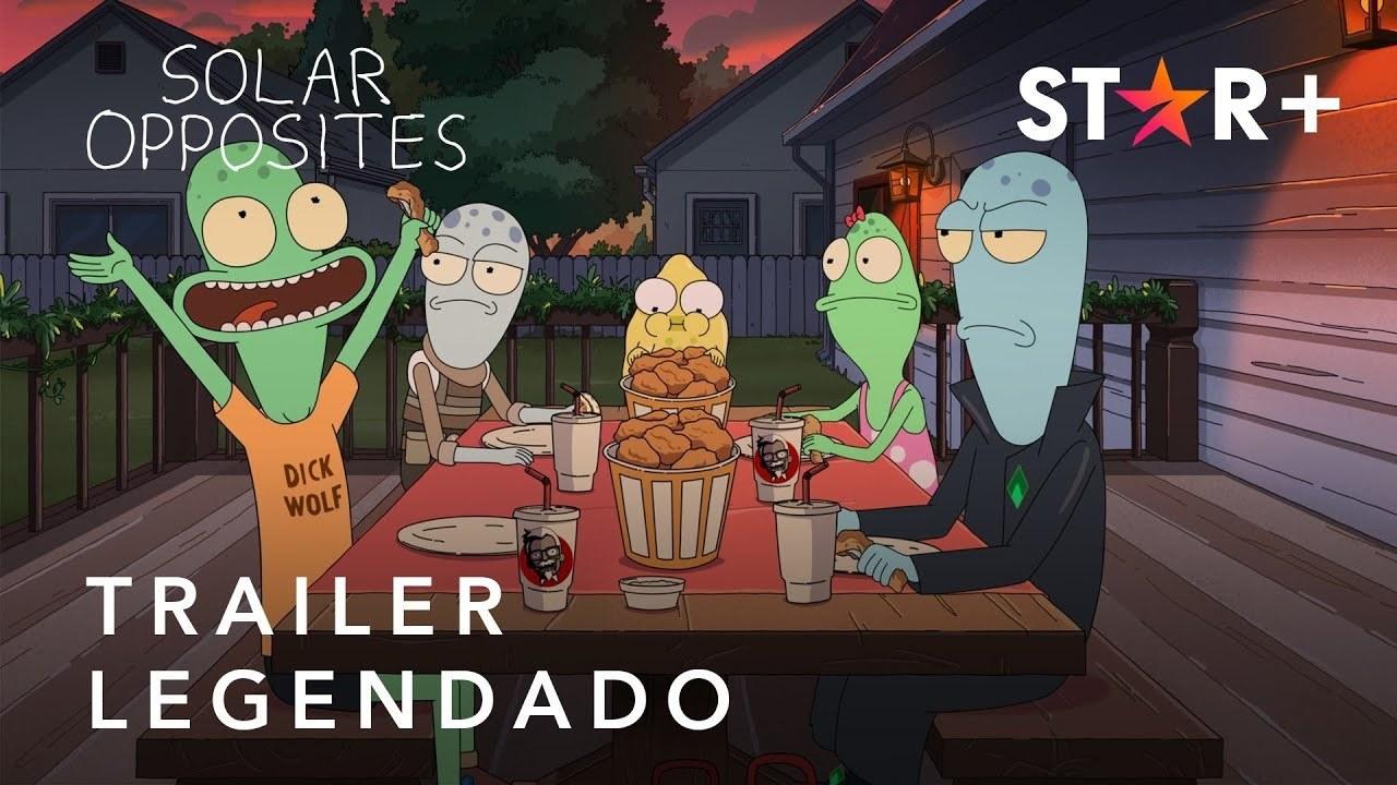 Solar Opposites | Trailer Oficial Legendado | Star+