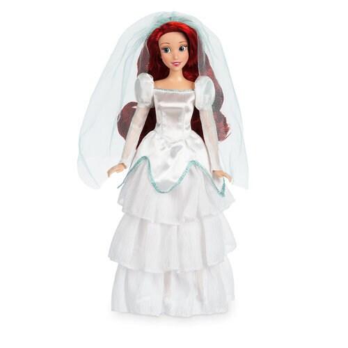 Naviblue 2019 Wedding Dresses Dolly Collection: Ariel Wedding Classic Doll - 11 1/2''