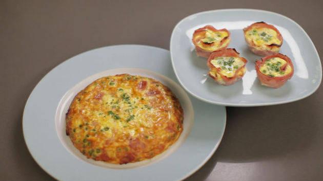 Frittata Two Ways - Breakfast & Dinner