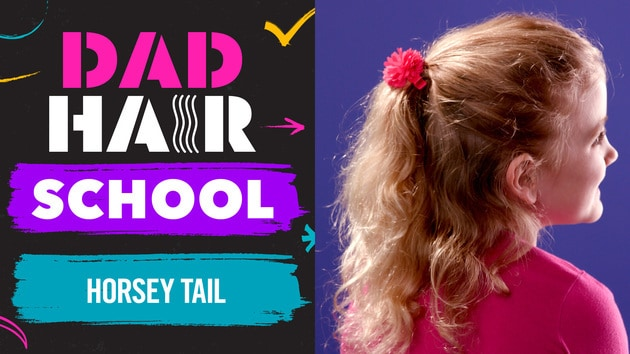 Horsey Tail | Dad Hair School by Babble