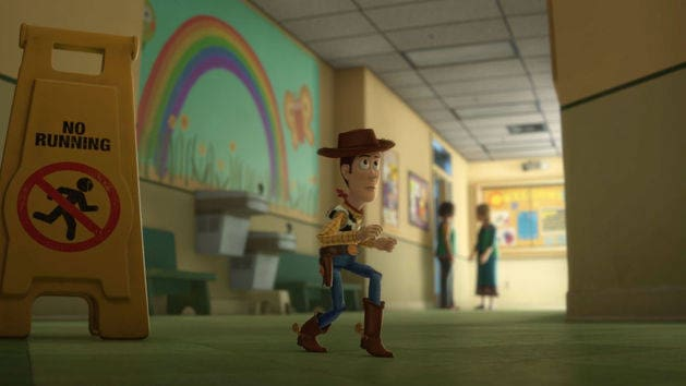 Woody foge - Toy Story 3
