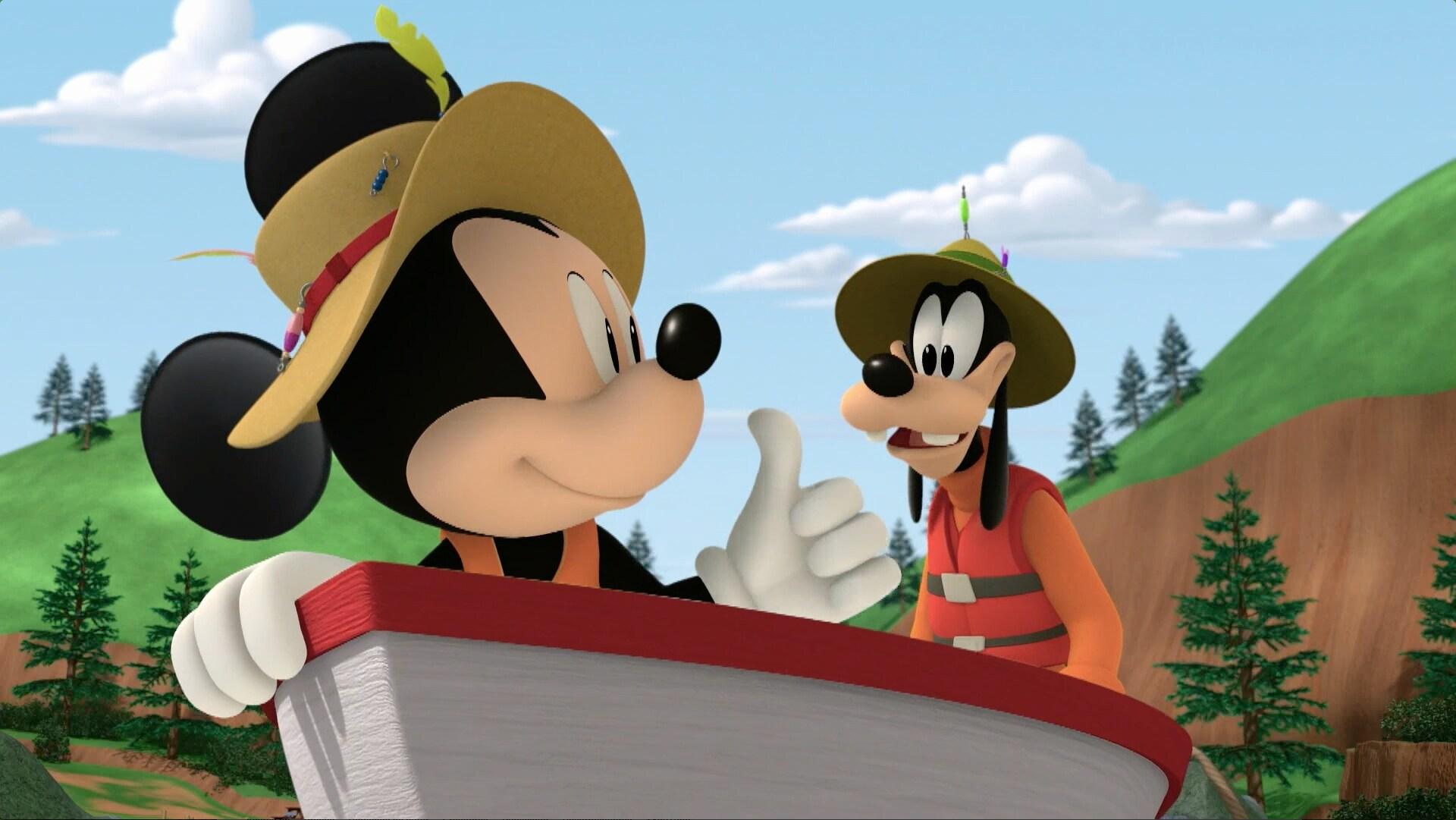A música do Mickey e do Pateta - Mickey: Aventuras sobre Rodas