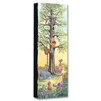 Image of Winnie the Pooh ''Tree Climbers'' Giclée on Canvas by Michelle St.Laurent # 1