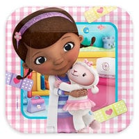 Doc McStuffins Lunch Plates