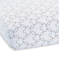 Image of Mickey Mouse Dash Crib Sheet by Ethan Allen # 1