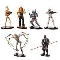 Image of Star Wars Collectible Figures - Prequel Set # 1