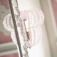 Image of Minnie Mouse Beaded Wall Sconce by Ethan Allen # 3