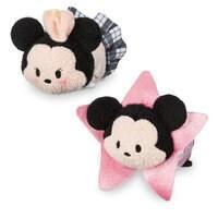 Image of Mickey and Minnie Mouse ''Tsum Tsum'' Plush Set - Mini - 3 1/2'' - Los Angeles # 1
