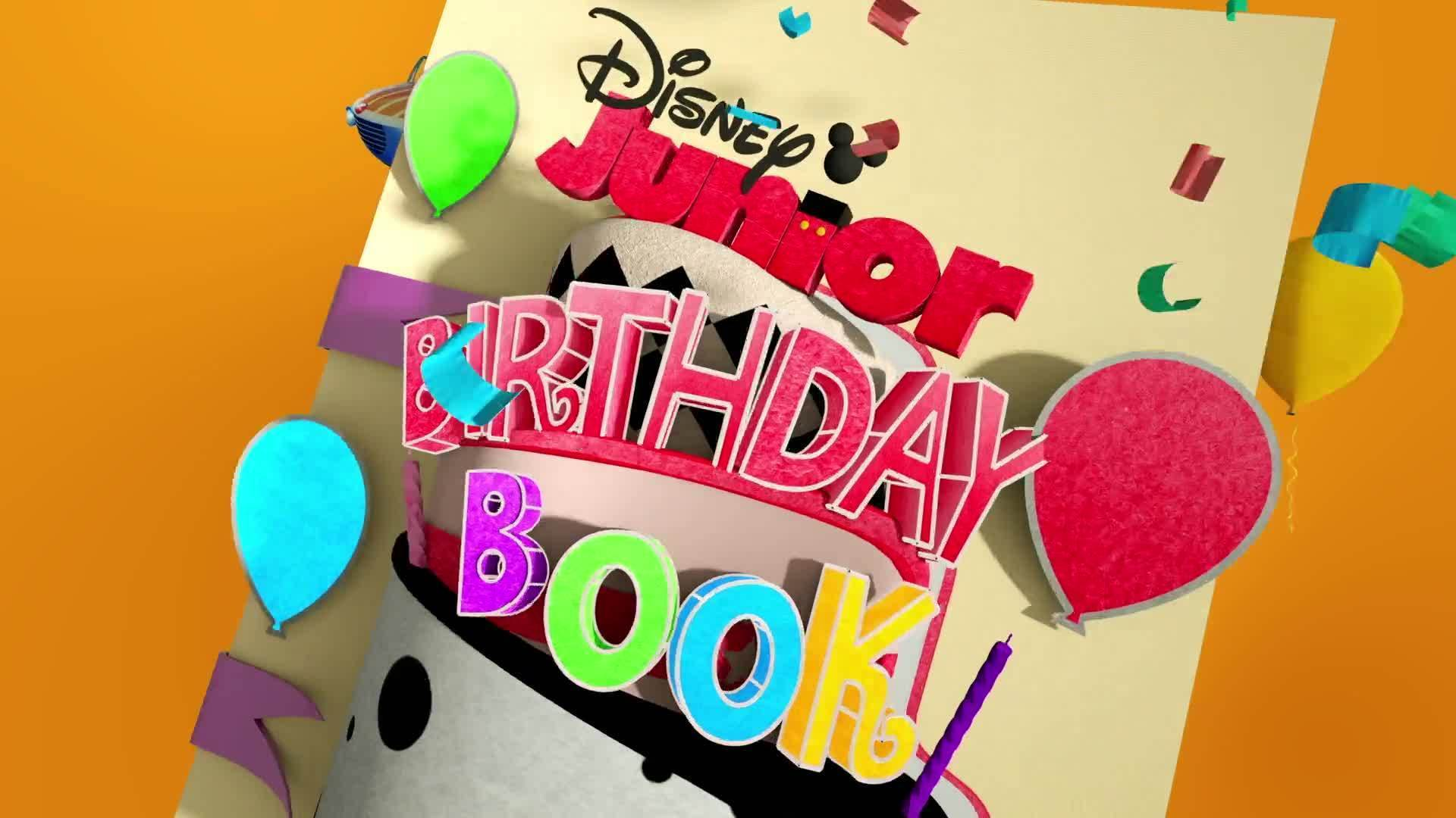 Disney Junior Birthday Book 2020 August Album 1