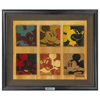 Image of ''6-Up Mickey'' Giclée on Canvas by Trevor Carlton - Limited Edition # 1
