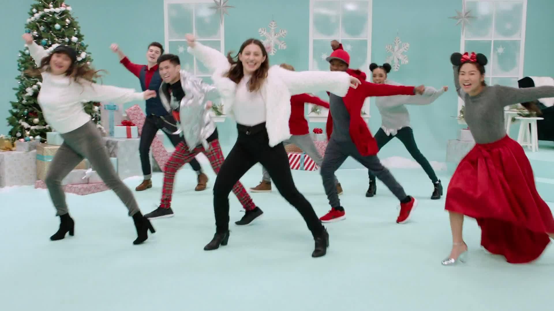 Dance Tutorial With Gabe De Guzman   Club Mickey Mouse Holiday