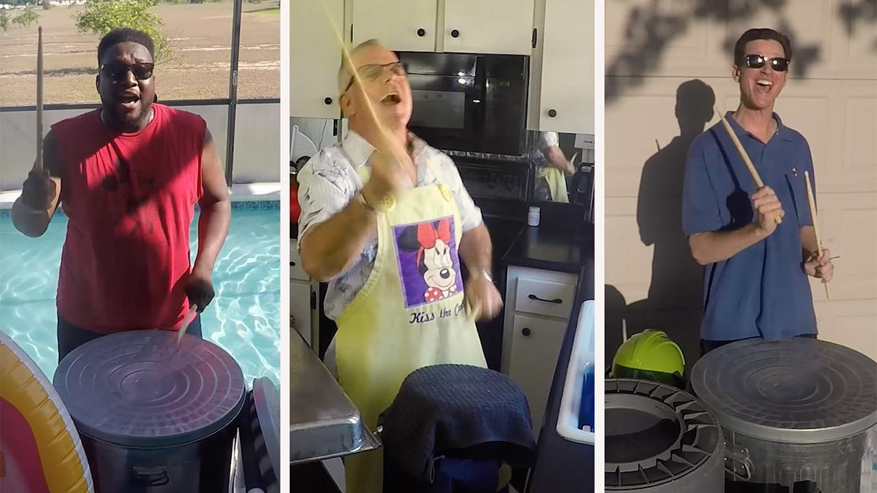 See the JAMMitors Share Disney Magic From Their Own Homes