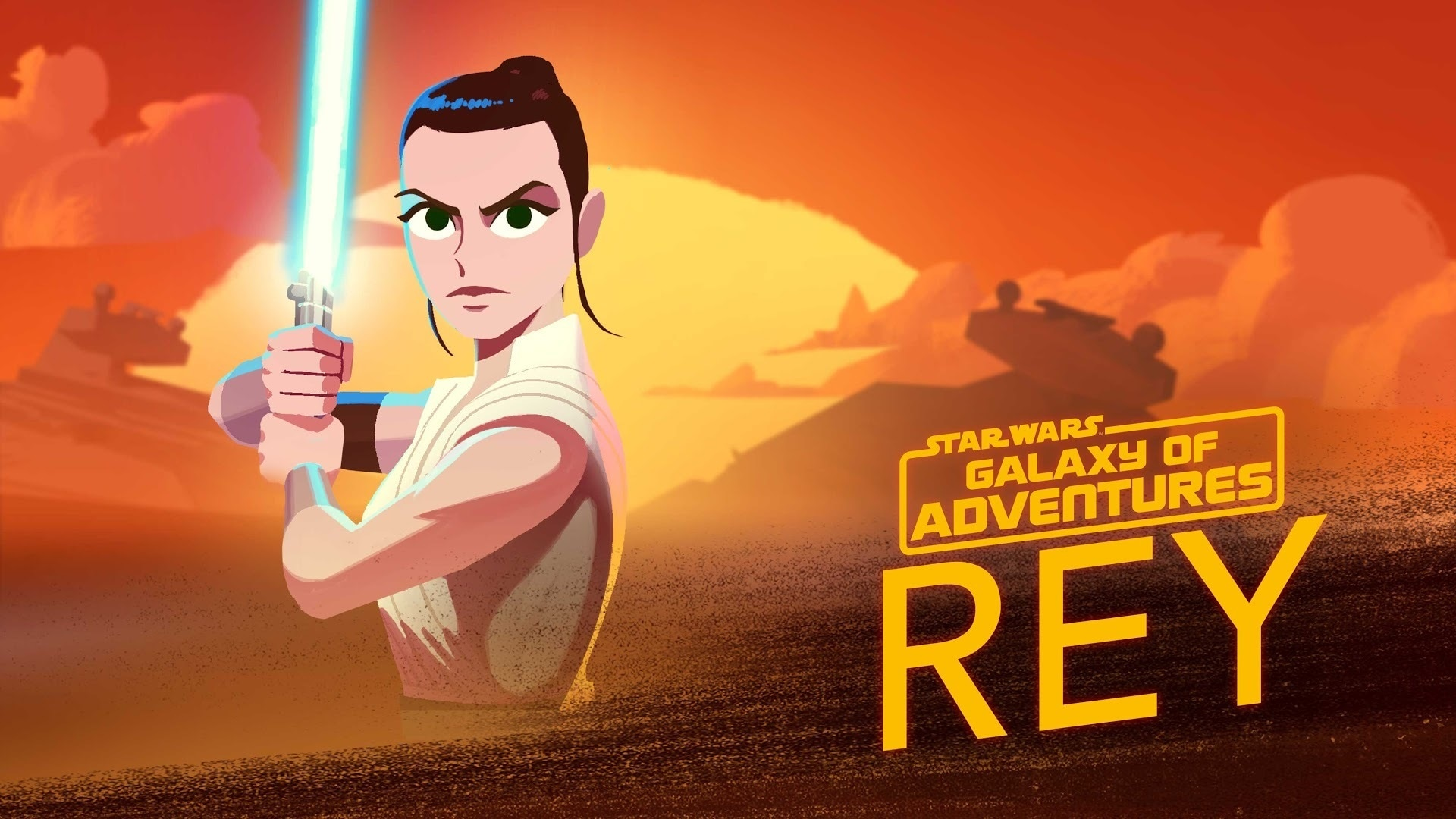The Force Calls to Rey | Star Wars Galaxy of Adventures