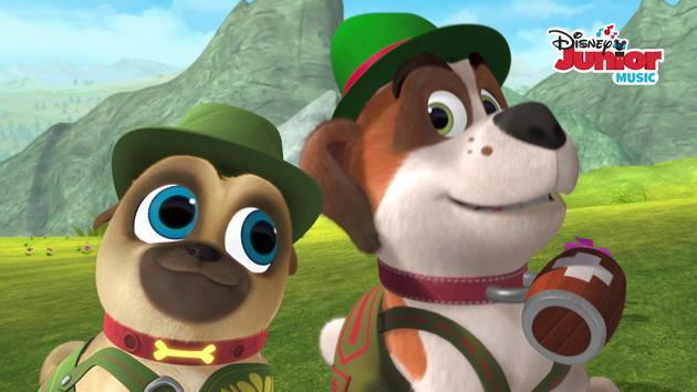 Music Video: Alpine Puppy Yodel