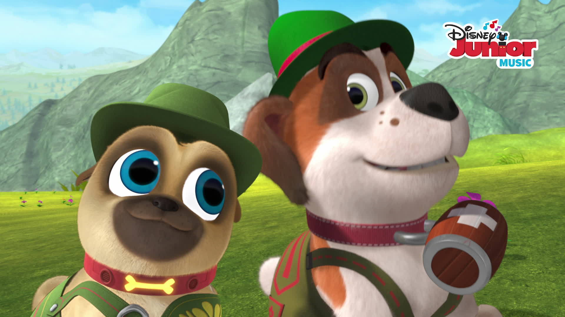 Music Video: Alpine Puppy Yodel