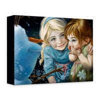 Image of ''Never Let It Go'' Giclée on Canvas by Heather Theurer # 1