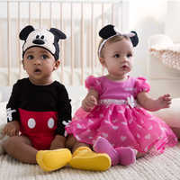 Image of Mickey Mouse Costume Bodysuit Set for Baby - Personalizable # 5