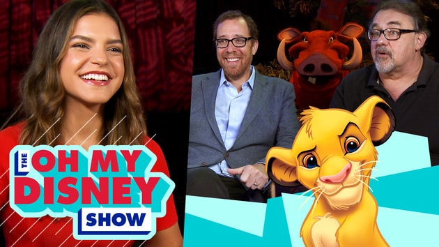 Don Hahn and Rob Minkoff on the Making of The Lion King | Oh My Disney