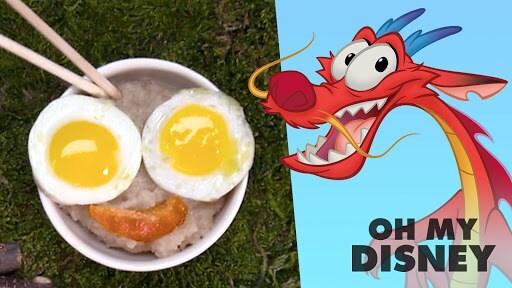 Tiny Food - Mulan's Breakfast | Sketchbook by Oh My Disney