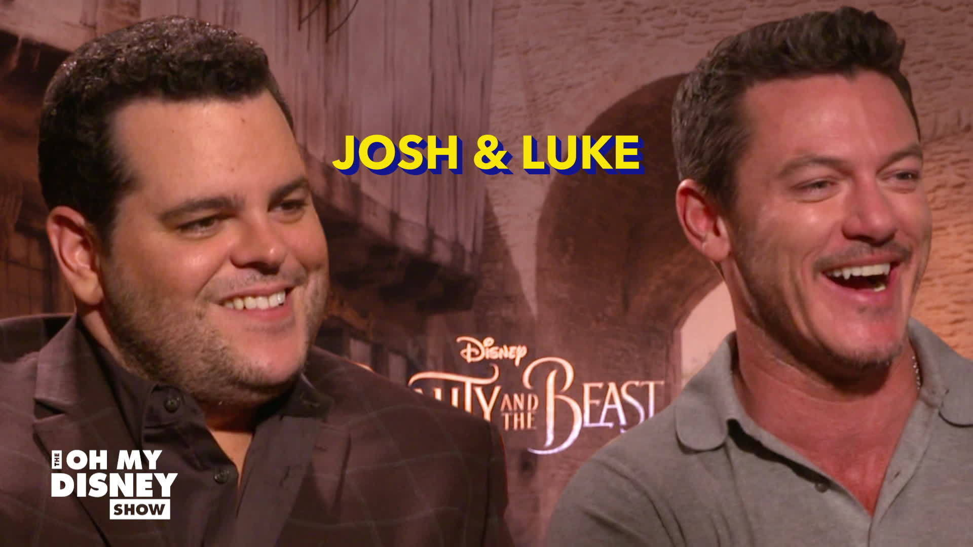 Josh Gad and Luke Evans on Friendship | The Oh My Disney Show