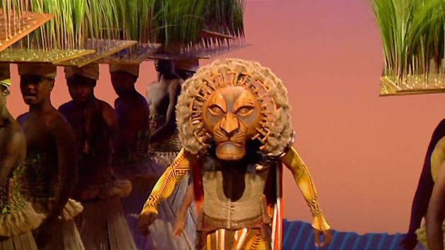 El Rey León. Danza y movimiento