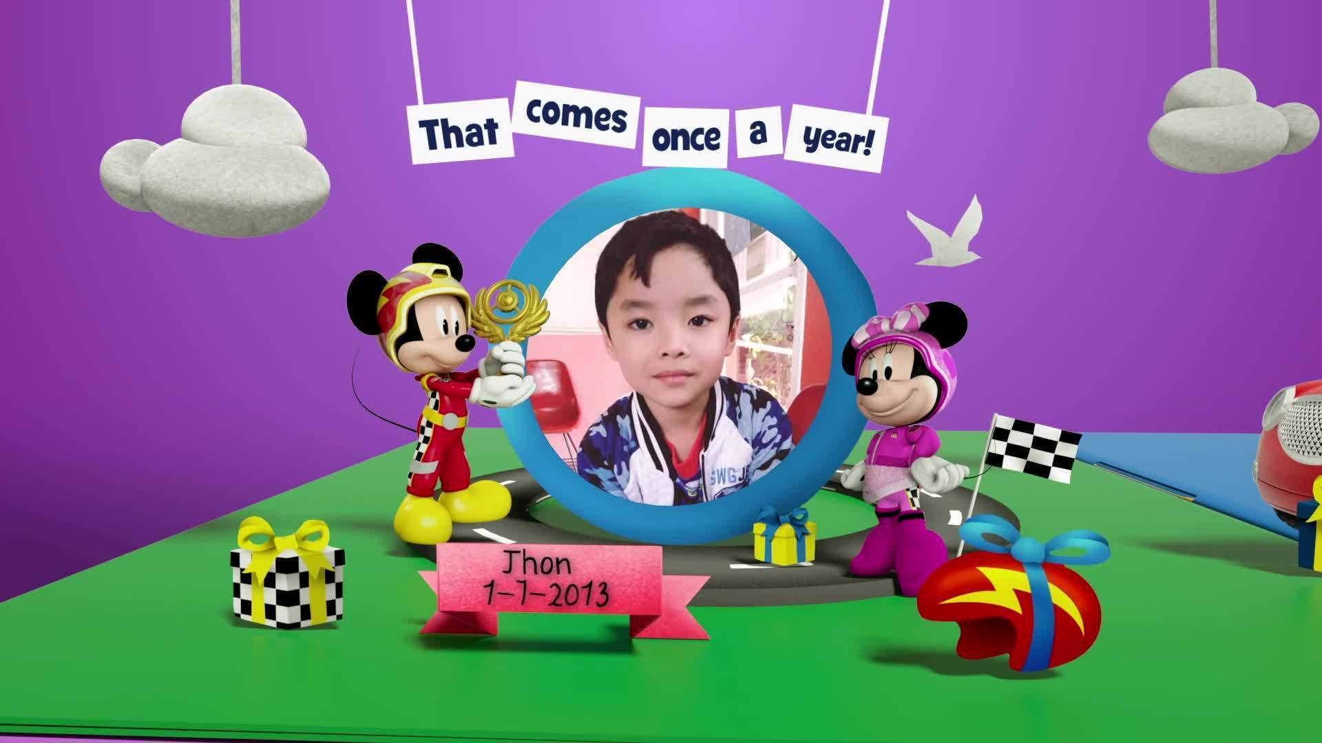Disney Junior Birthday Book 2020 July Album 4